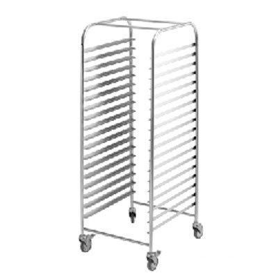 Simply Stainless Mobile Gastronorm Rack Trolley - Catering Sale