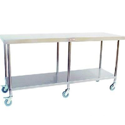 Simply Stainless Mobile Work Bench (600 Series) - Catering Sale