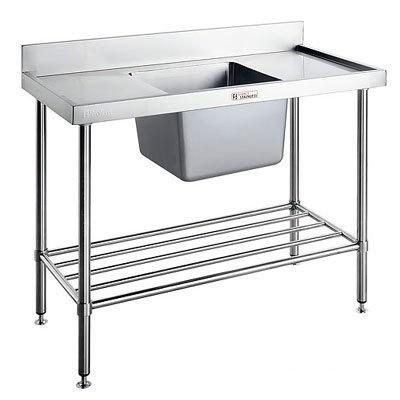 Simply Stainless Single Sink Bench - Catering Sale