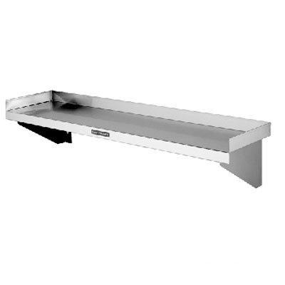 Simply Stainless Solid Wall Shelf - 900mm