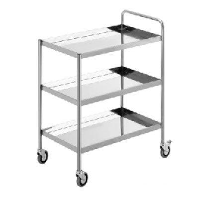 Simply Stainless Three Tier Trolley - Catering Sale