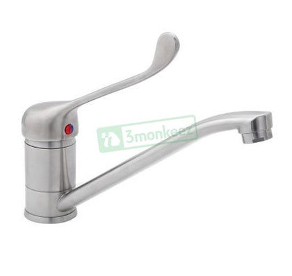 3MK T-3MLS4MIX S/S Lever Handle Swivel Sink Mixer - Catering Sale