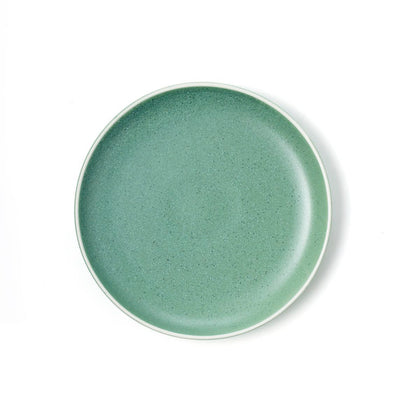 TABLEKRAFT URBAN ROUND COUPE PLATE GREEN 200mm (6pcs) - Catering Sale