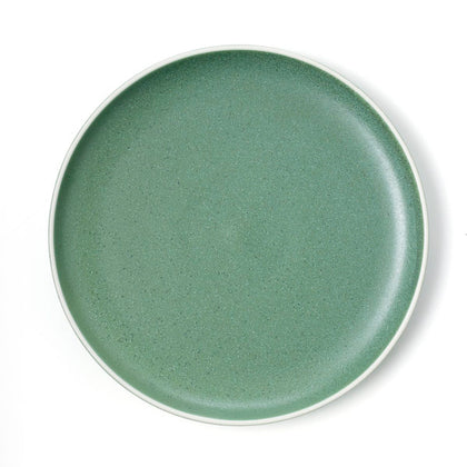 TABLEKRAFT URBAN ROUND COUPE PLATE GREEN 265mm (4pcs) - Catering Sale