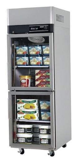 Turboair KF25-2G Upright Glass Half Door Freezer