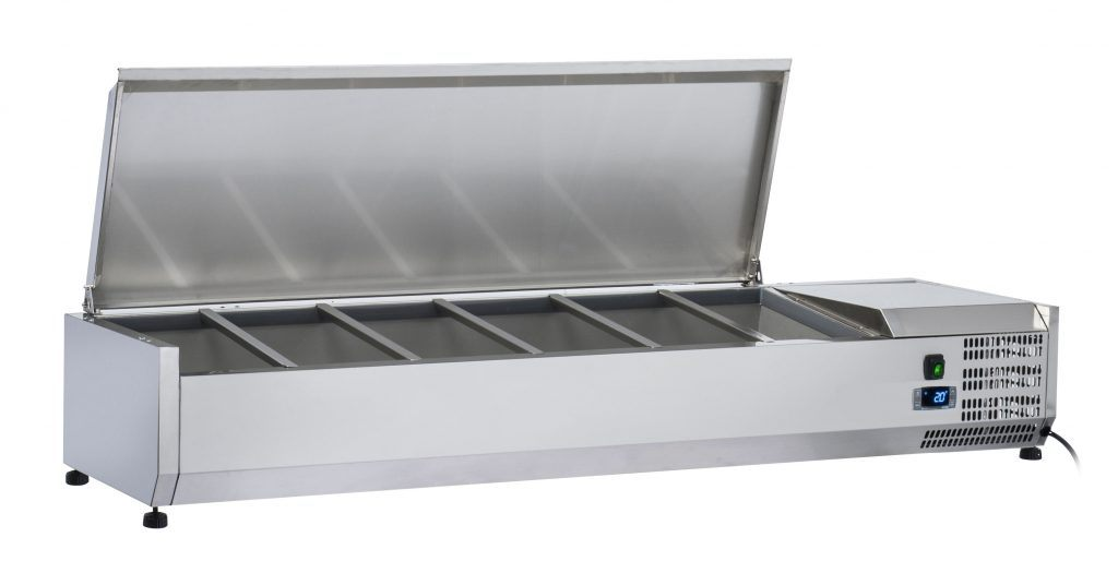 ANVIL Refrigerated Stainless Steel  Ingredient Unit - VRX1200S/VRX1500S