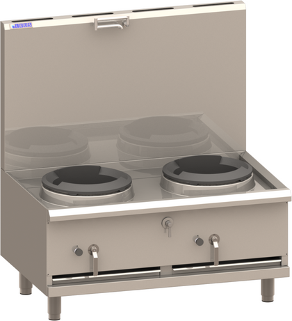 LUUS COMPACT Duckbill Burners Stockpot
