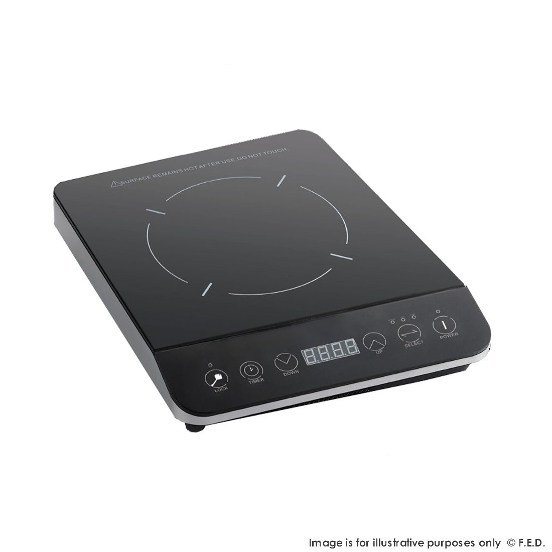 FED Digital Ceramic Glass Induction Plate - BH2000C