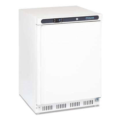 Polar CD611 C-Series Under Bench Freezer White 140Ltr - Catering Sale