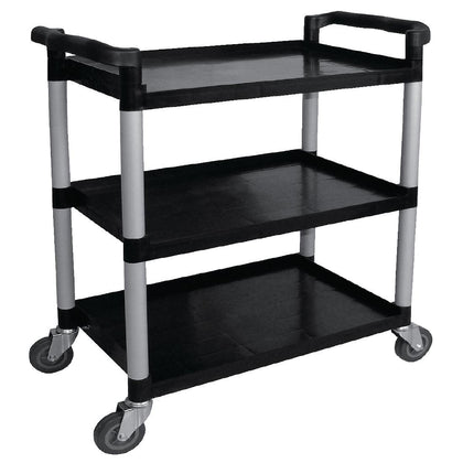 Vogue Polypropylene Mobile Trolley Large - Catering Sale