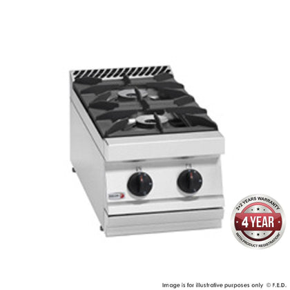FED Fagor 700 series Open burner boiling top with cast