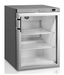 Anvil FBFG1201 Single Door Freezer with Glass Door 170lt - Catering Sale