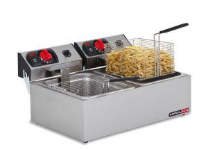 Fryer Deep Fat Single / Double Pan - Catering Sale