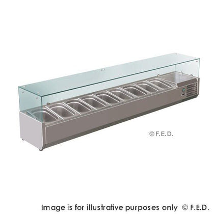 FED Deluxe Prep Top (1200/1500/1800/2000/2500mm Wide) - Catering Sale