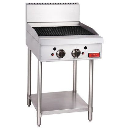 Thor 6 Burner Natural Gas Char Grill GH103 - 610 x 835 x 1175 - Catering Sale