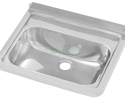 3MK Hand Basin with 35mm Centre Tap Hole. 40mm Outlet - Catering Sale