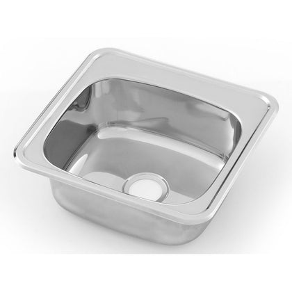 3MK HBF S/S Inset Bar Sink. Incl. Fixing Clips and Seal - Catering Sale