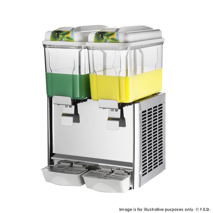 FED Double Bowl Juice Dispenser - KF12L-2