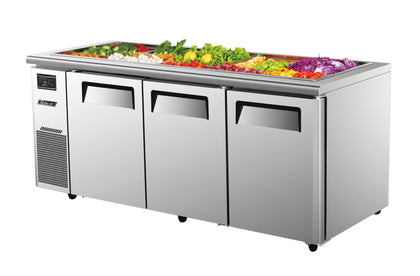 Turboair KSR18-3 Three Door Salad Side Prep Bench Fridge - 1800mm