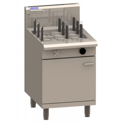 LUUS NC-60 600mm 9 Baskets Noodle Cooker - Catering Sale