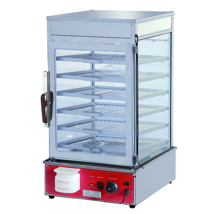 FED MME-500H-S Electric steamer display cabinet - Catering Sale