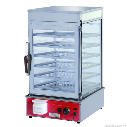 FED MME-600H-S Electric steamer display cabinet - Catering Sale