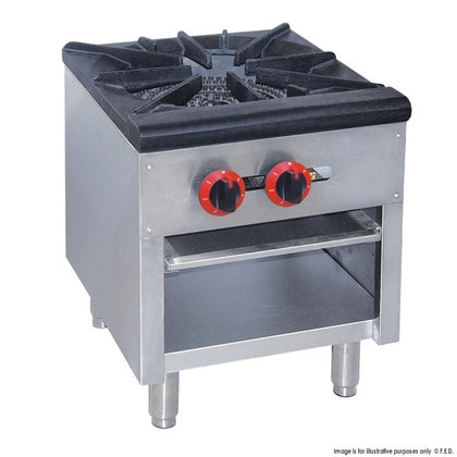 RB-1 GASMAX Dual Ring Burner Single Hob with Flame Failure - Catering Sale
