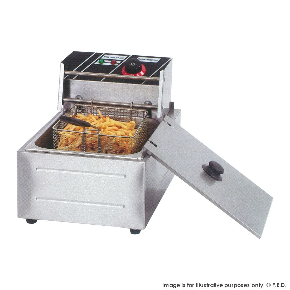 FED Electmax Benchtop Electric Fryer