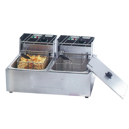 FED TEF-82KW Double Tank Electric Fryer