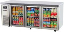 Turbo Air KGR18-3 Under Counter Glass Door Refrigerator - Catering Sale