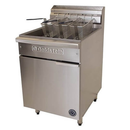 Goldstein VFG-24L Gas Deep Fryer - 600mm wide 20 Litre - Catering Sale