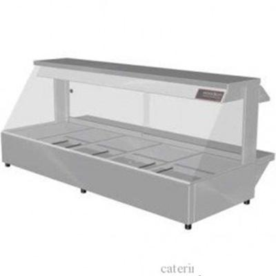 Woodson W.HFS25 Hot Food Bar - Straight Glass 1680mm