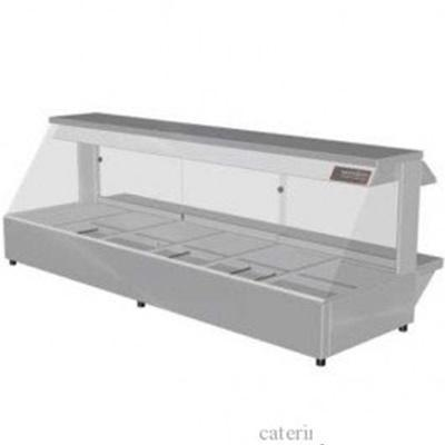 Woodson W.HFS26 Hot Food Bar - Straight Glass 2005mm - Catering Sale