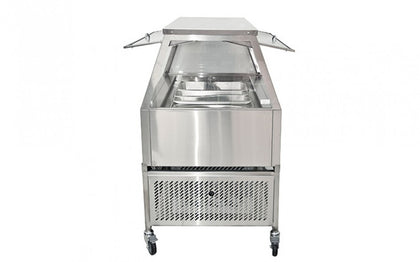 Woodson Self Serve Cold Food Display W.CFSS25 5 Module - Catering Sale
