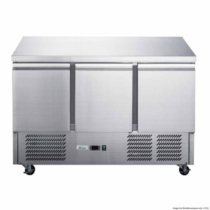 FED XGNS1300B Compact Workbench Fridge