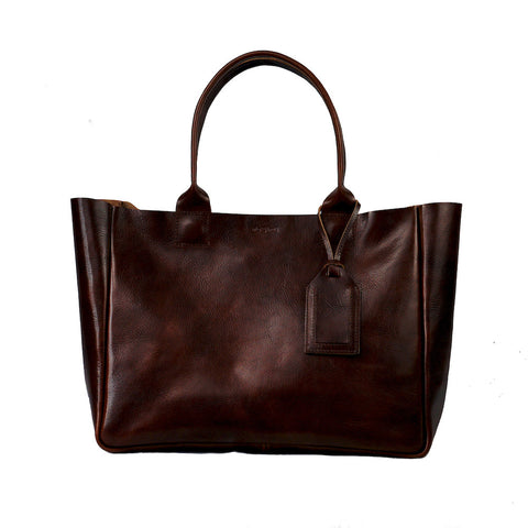 Heirloom Tote | Oxblood