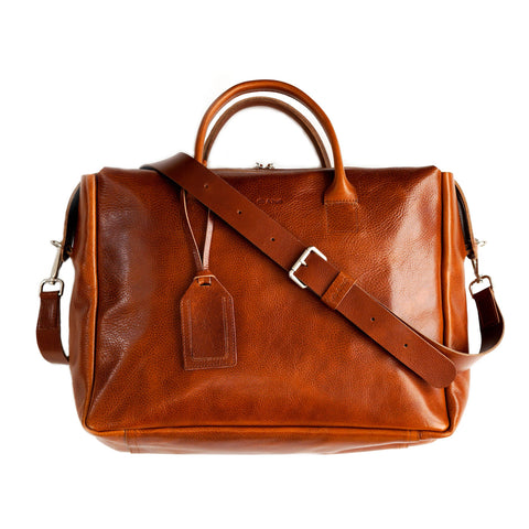 Weekday Bag in Cognac Brown
