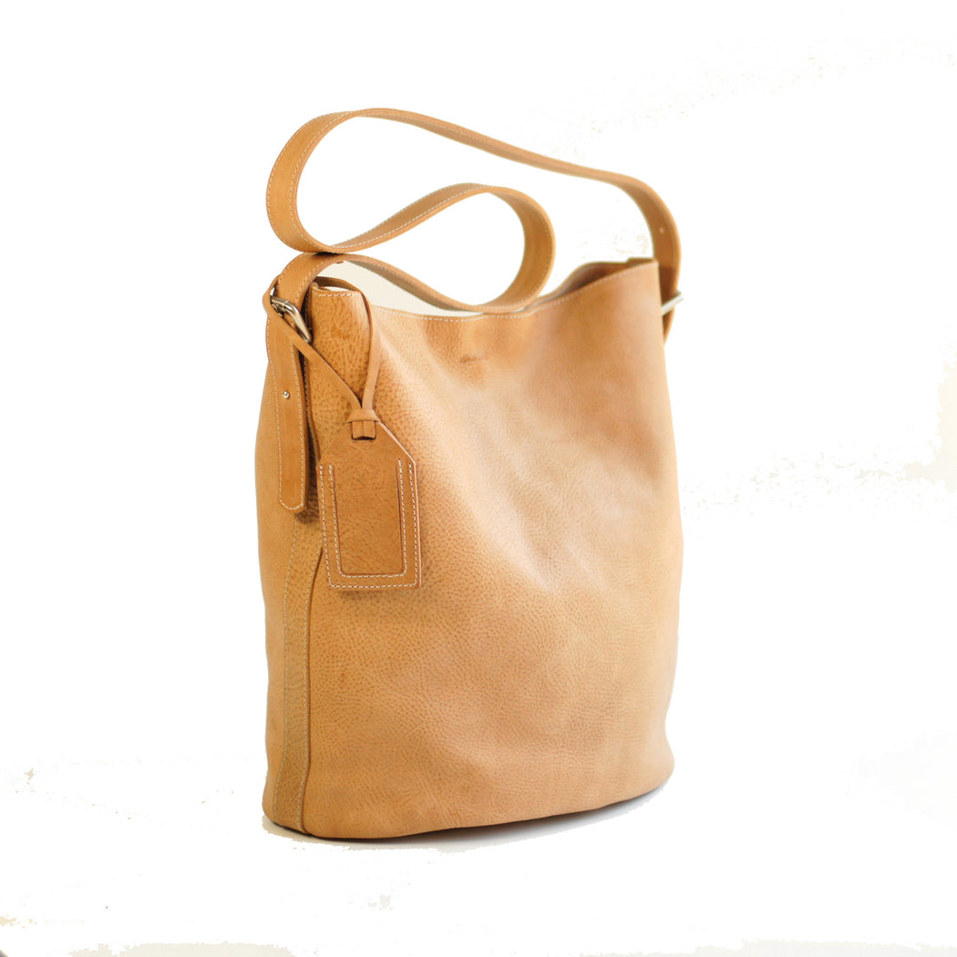 Matte Bucket Bag | Natural