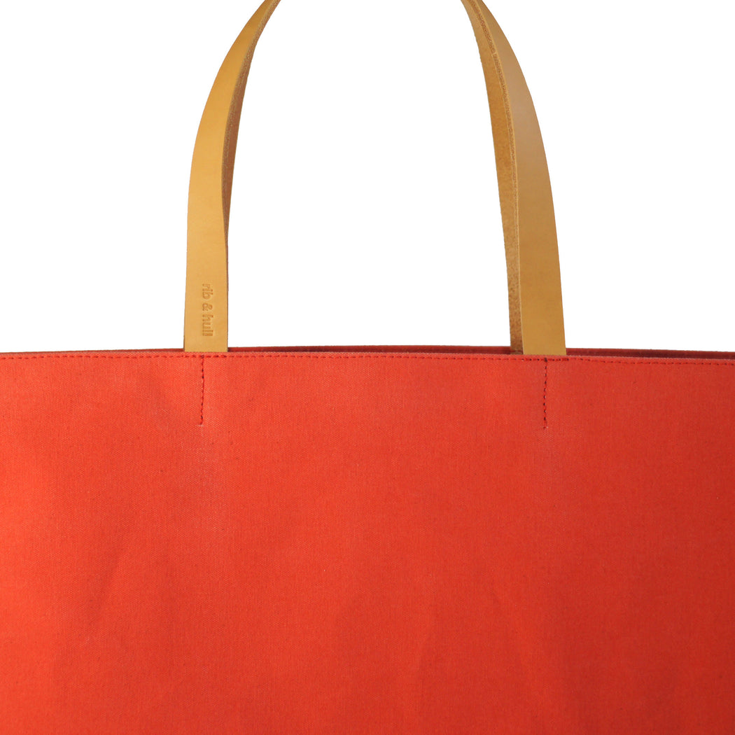 Day Tote | Coral Red