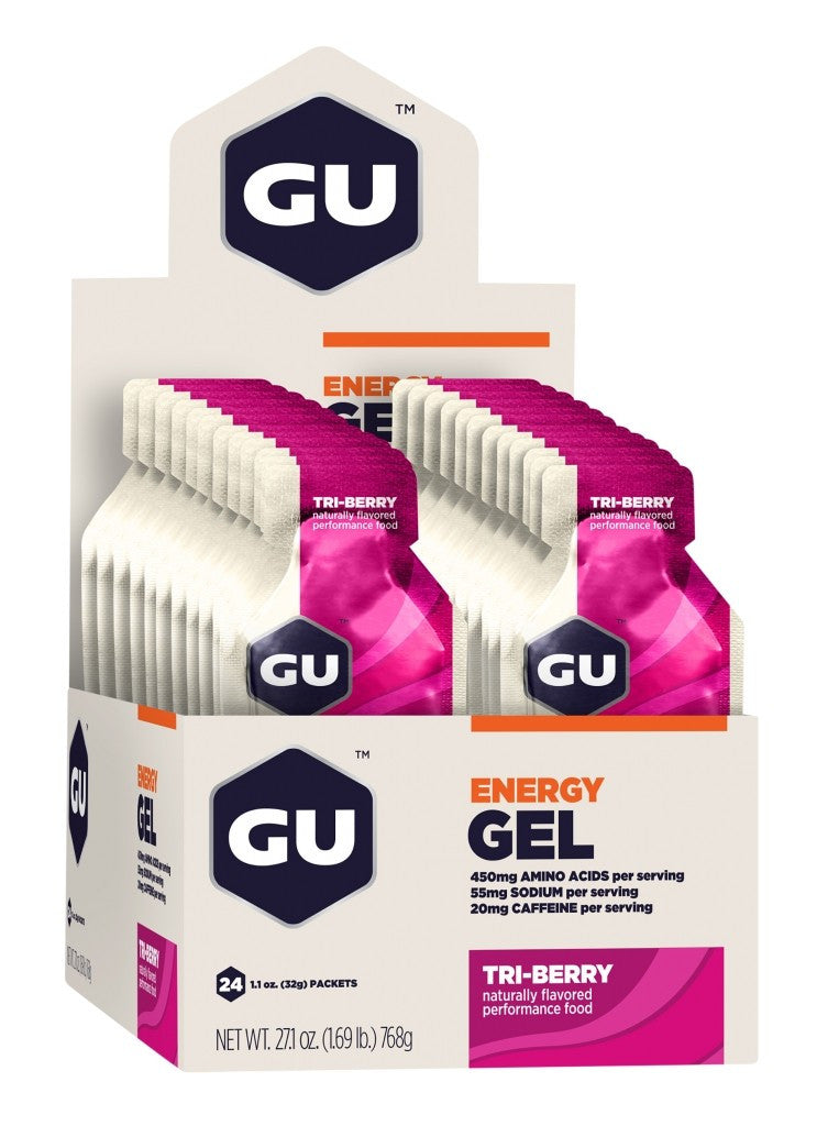 GU Energy Gel 24 packs/box, Nutrition, GU - athleti.ca
