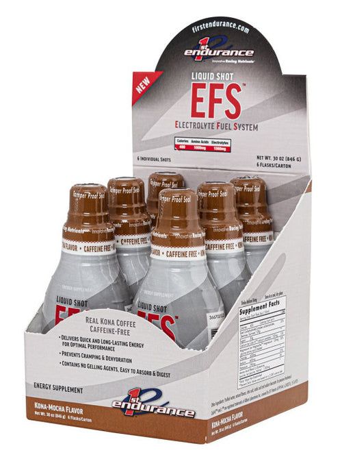 First Endurance EFS Liquid Shot Kona Coffee Mocha