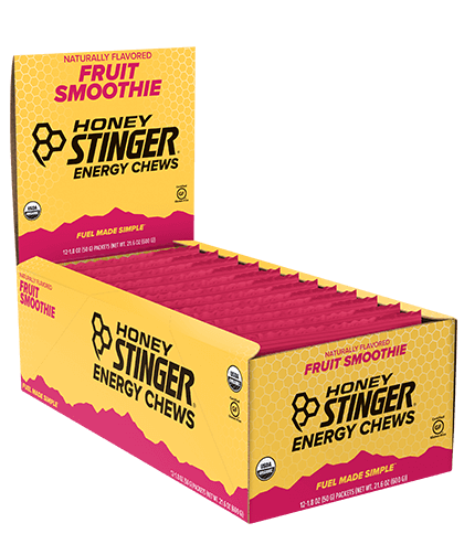 Honey Stinger Organic Energy Chews - Box of 12, Nutrition, Honey Stinger | athleti.ca