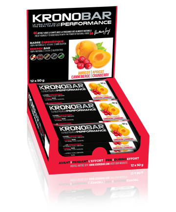 KRONOBAR Energy Bars - 12-Pack Box, Nutrition, KRONOBAR | athleti.ca
