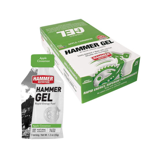 Hammer Nutrition Gel - Box of 24, Nutrition, Hammer