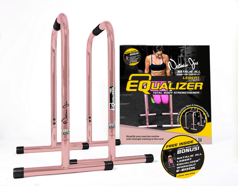 Lebert Fitness - Natalie Jill Signature Series Rose Gold EQualizers, Training, Lebert Fitness | athleti.ca