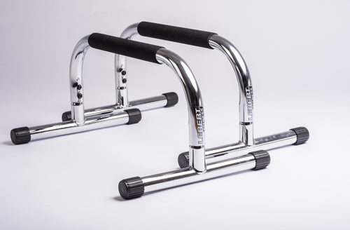 Lebert Fitness - Frank Medrano Chrome Parallettes