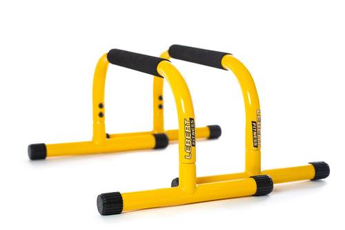 Lebert Fitness Canada - Yellow Parallettes