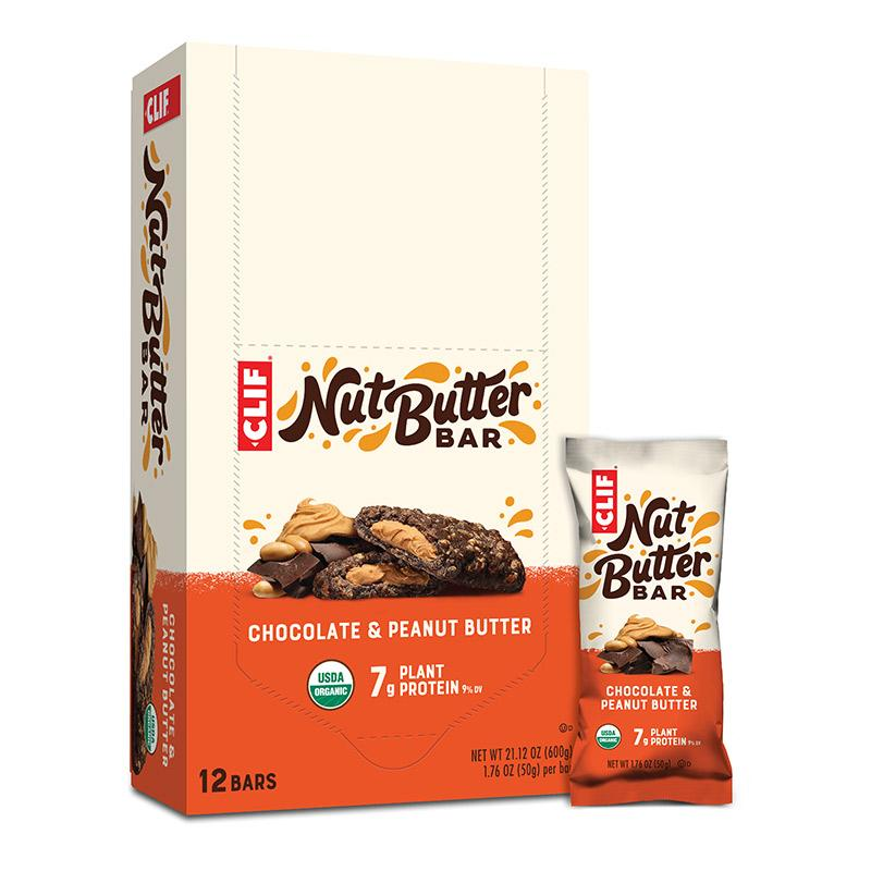 Clif Nut Butter Energy Bars - Box of 12, Nutrition, Clif | athleti.ca