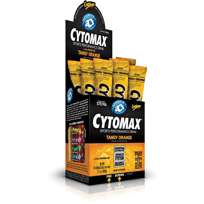 Cytomax Drink Powder - Box of 24 Packets, Nutrition, Cytomax - athleti.ca