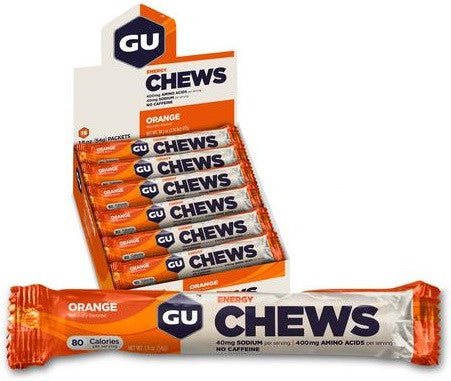 GU Energy Chews - 18-Double Serve Packs - athleti.ca